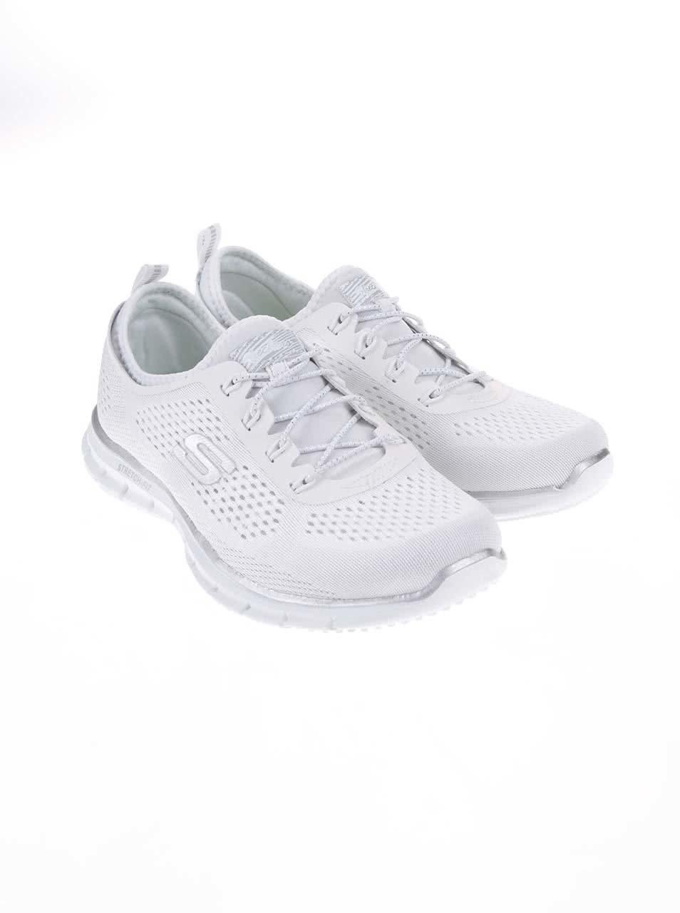 e6814ff7dc6 Bílé dámské sportovní tenisky Skechers Harmony ...