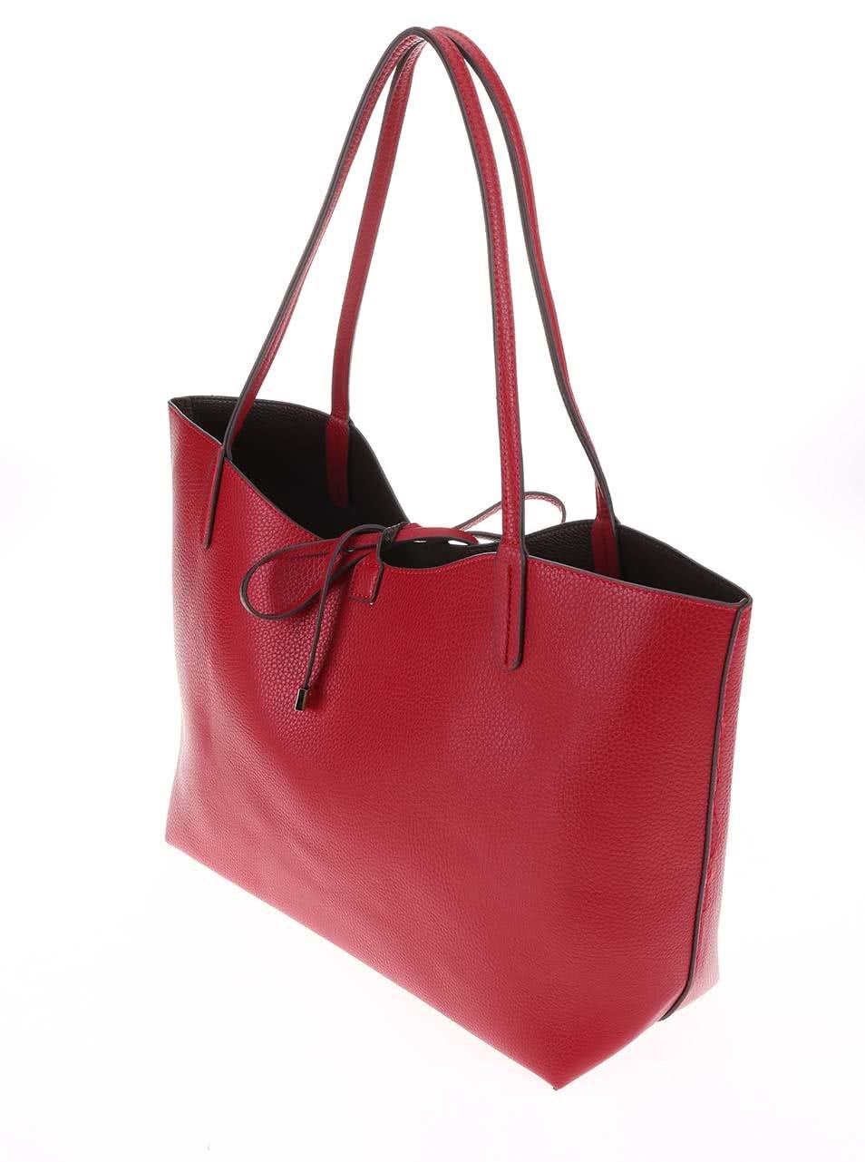Červená veľká kabelka 2v1 Kris-Ana ... 963546fb50b
