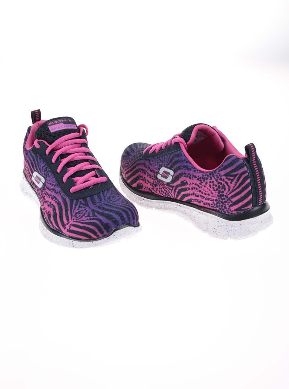 5197577ef10b2 Fialovo-ružové dámske športové tenisky Skechers Surf Safari | ZOOT.sk