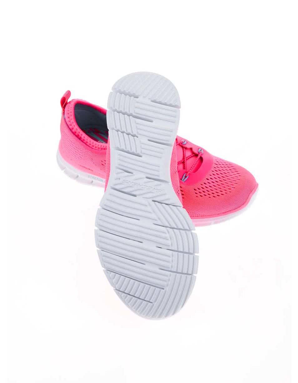 Neonově růžové dámské sportovní tenisky Skechers Harmony ... 108372aa0a