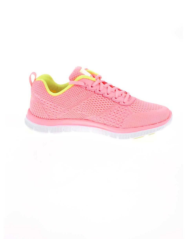 85b972a36a987 Neónovo ružové dámske športové tenisky Skechers Obvious Choice | ZOOT.sk