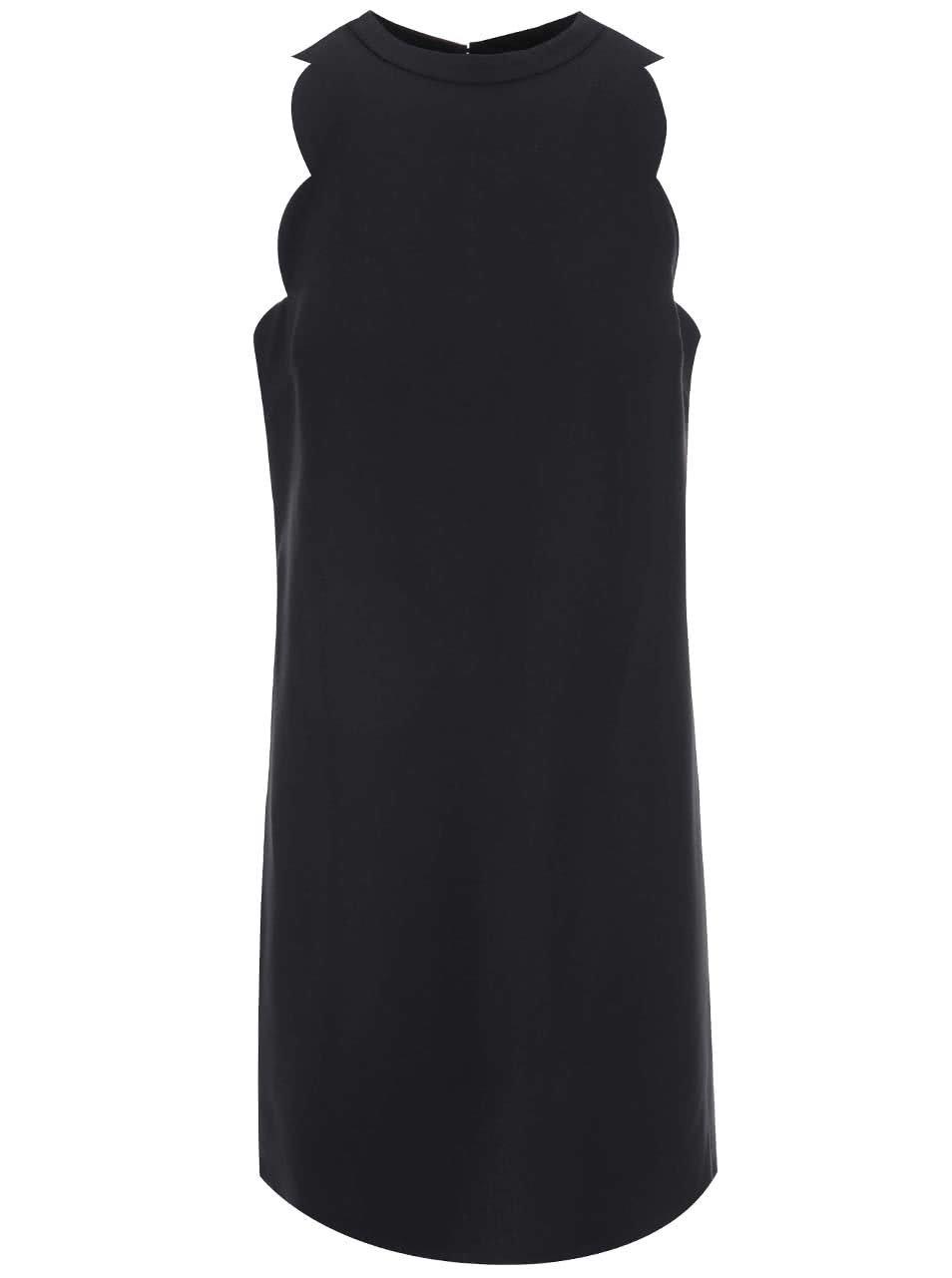 Černé šaty s vykrojenými rameny Dorothy Perkins ... 59604628a4
