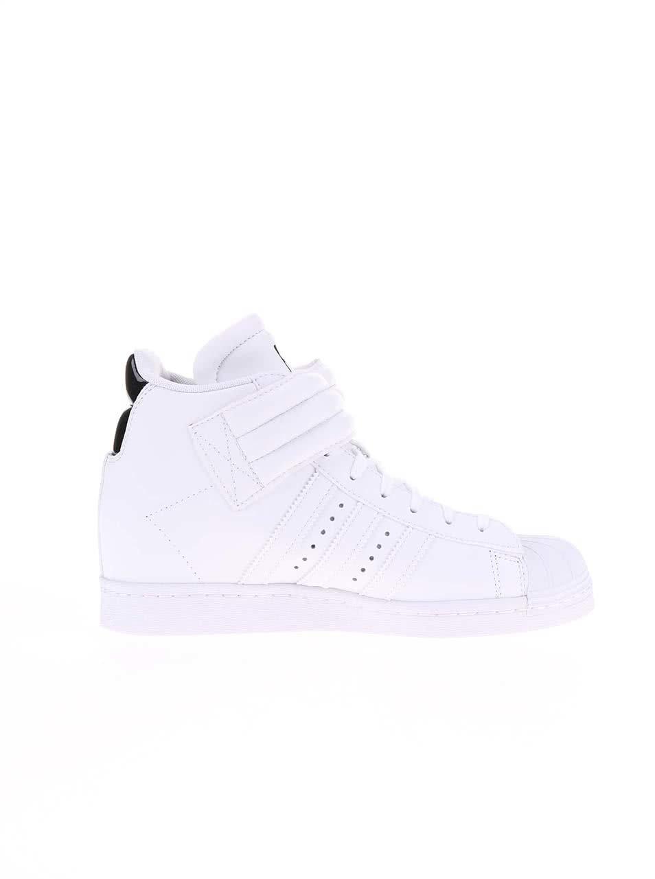 b5b993c9df Biele dámske členkové tenisky adidas Originals Superstar UP Strap ...