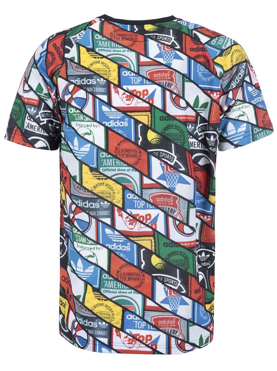 644f8d538a6 Barevné pánské triko s potiskem adidas Originals Tongue TEE ...