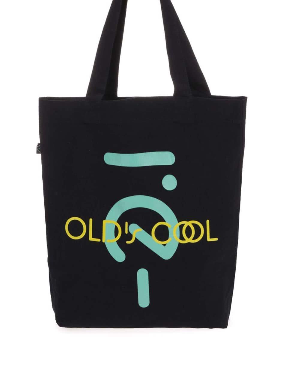 """""""Dobrá"""" černá taška s potiskem Elpida Old´s Cool"""