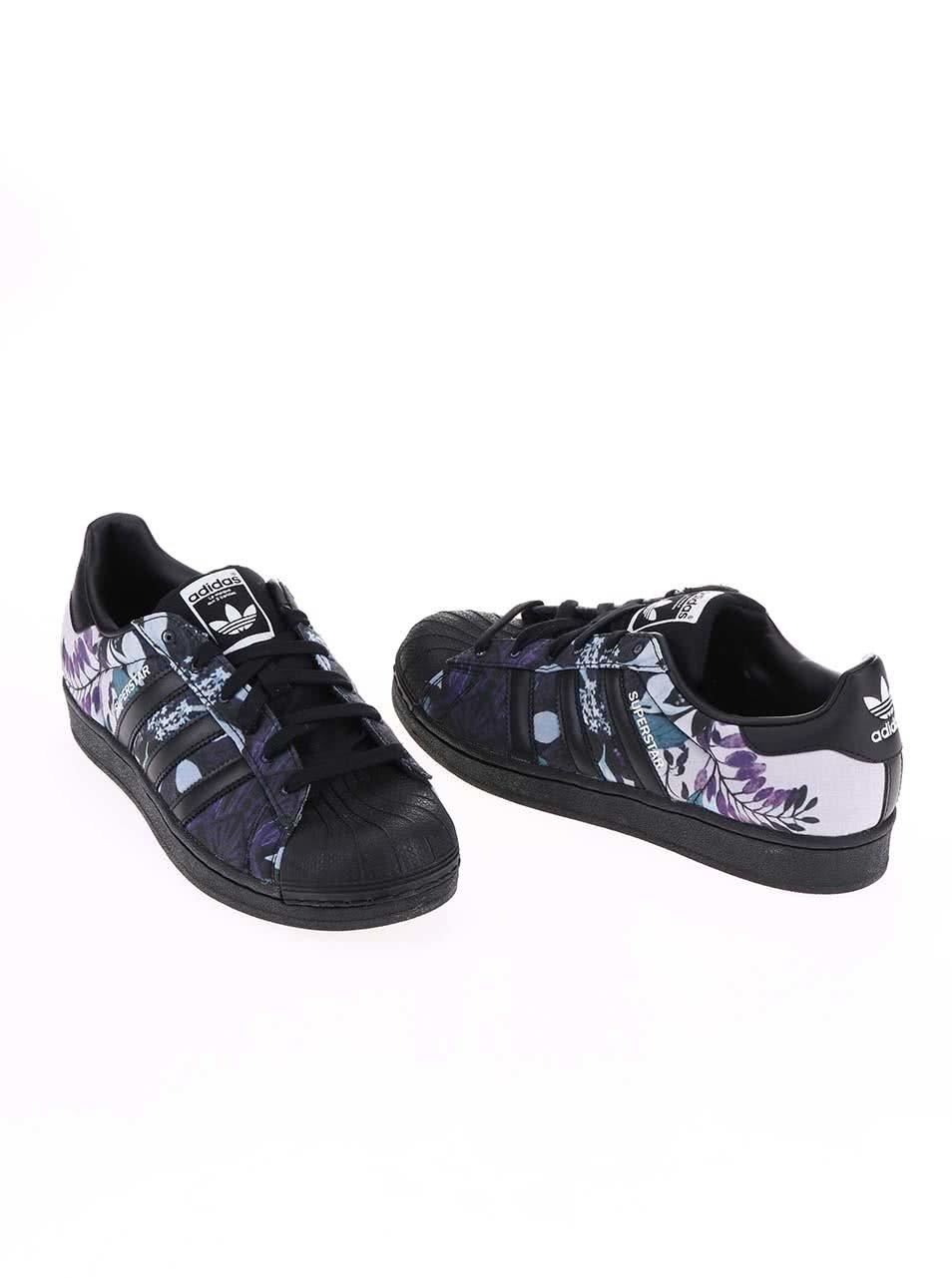 Černé dámské tenisky adidas Originals Superstar W ... c3bd8cf58d