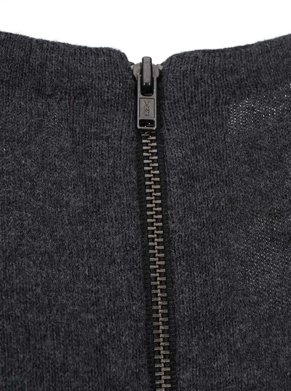 40015a8c3ff6 Sivé úpletové šaty s dlhým rukávom s.Oliver ...