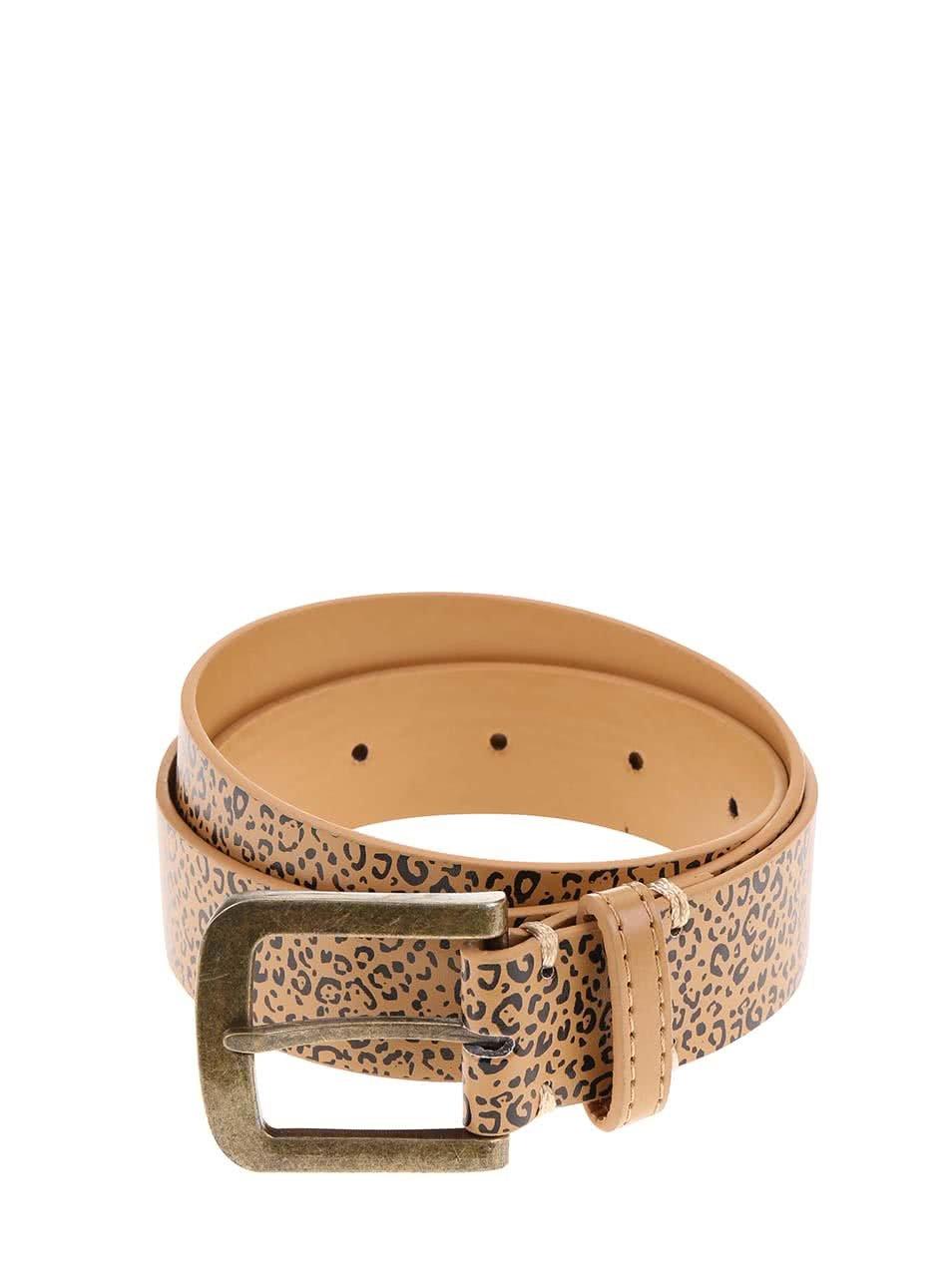 Pásek s leopardím vzorem D-Struct Movico