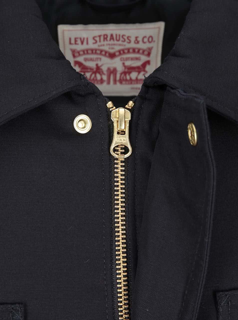 Čierna pánska bunda Levi s® ... 8b265237bf8