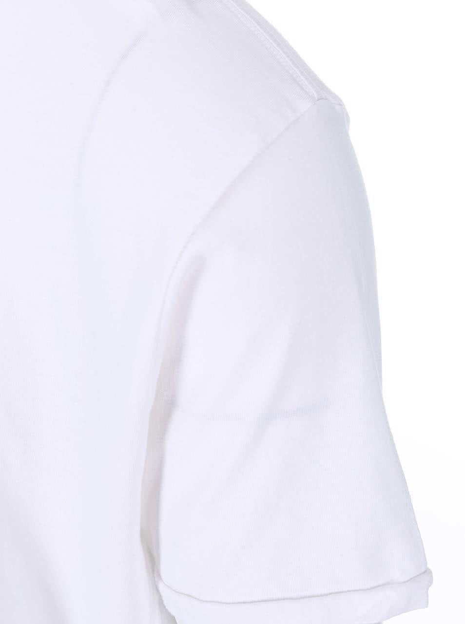 Bílé triko s prodlouženou zadní částí Shine Original ... 87778b990d
