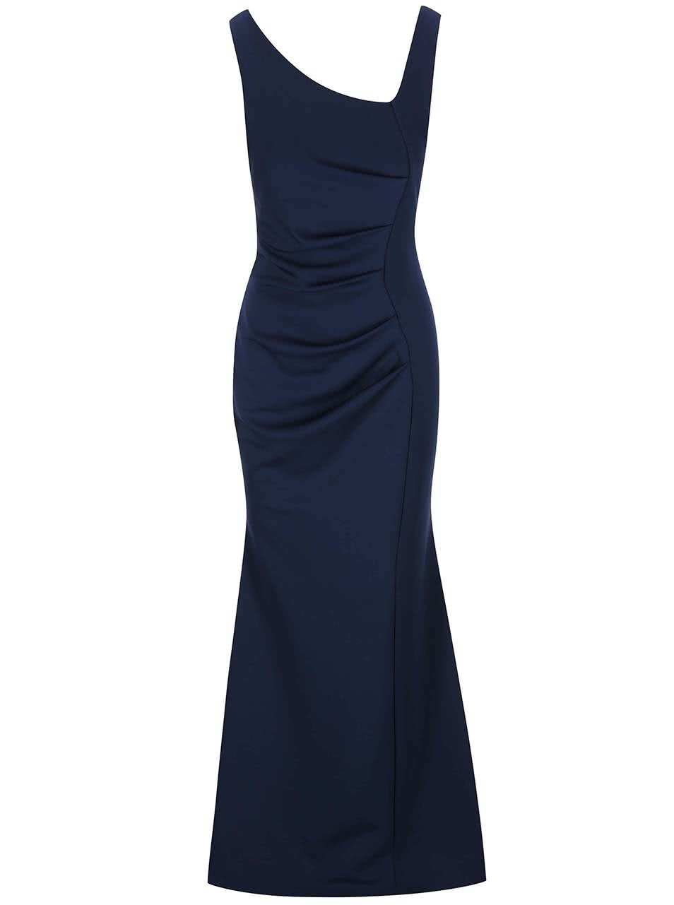 Tmavě modré dlouhé šaty Lipstick Boutique Veronica ... 3d9fdeeab1