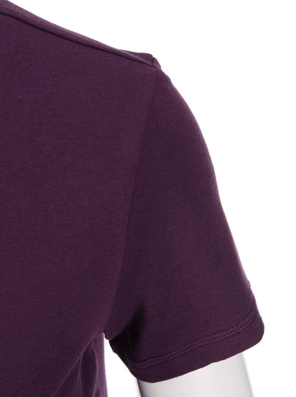 Fialové dámské tričko adidas Originals Moscow ... 83bf967c917