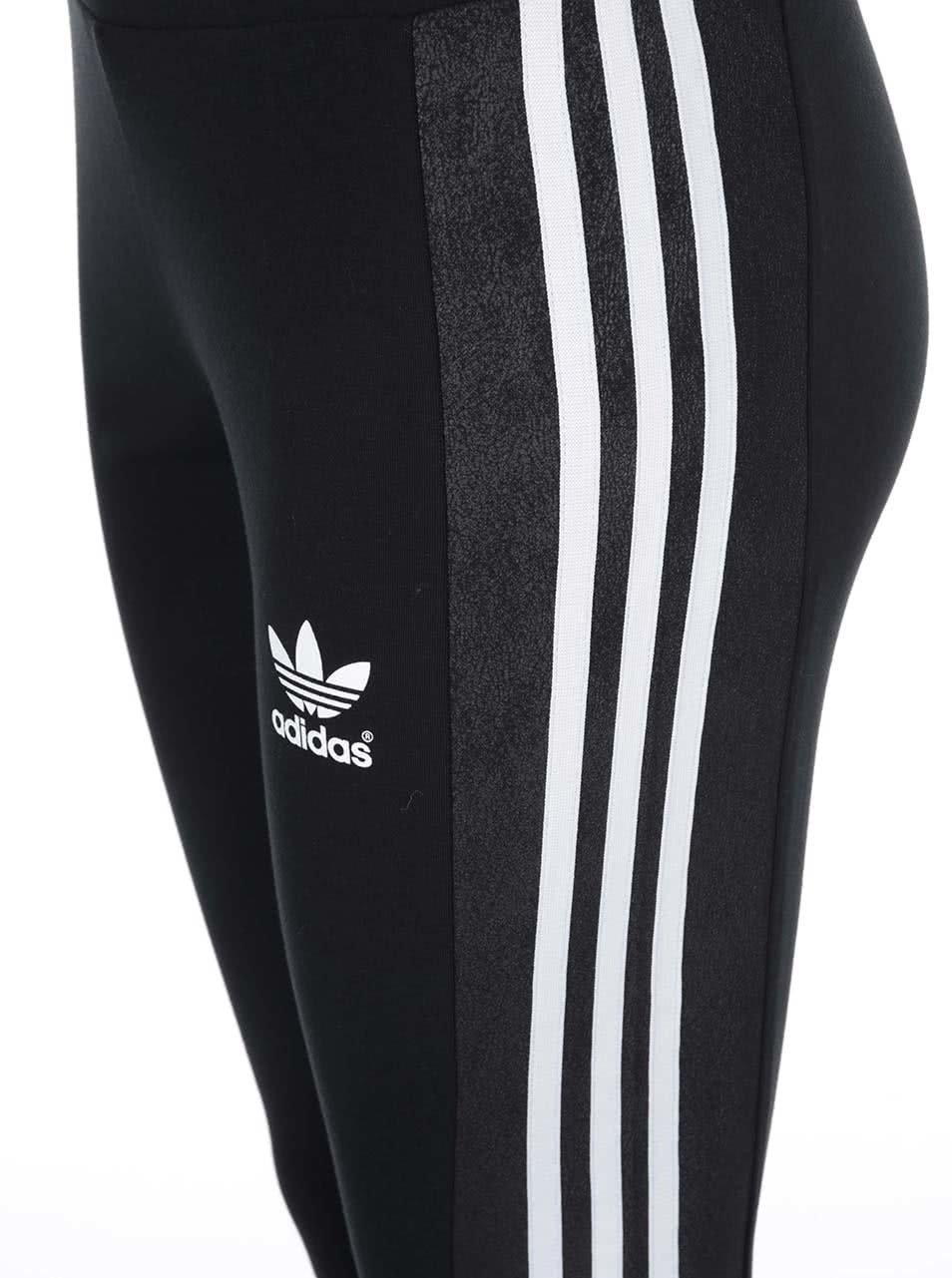 Černé dámské legíny adidas Originals Deluxe ... 633e8243c1