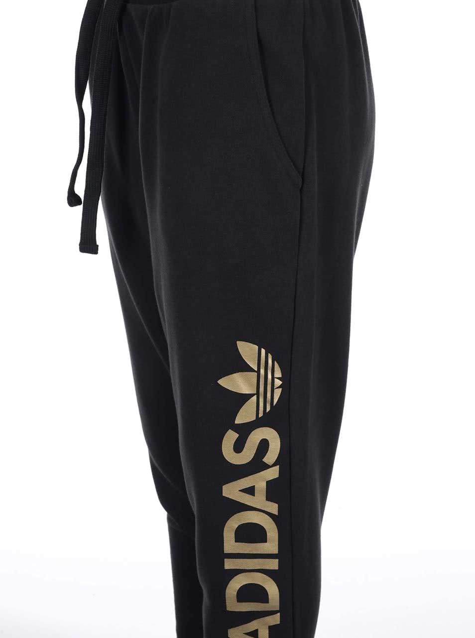De Logo Essentials Cu Pantaloni 0zxxt Adidas Dama Negri Trening qwBP5qC
