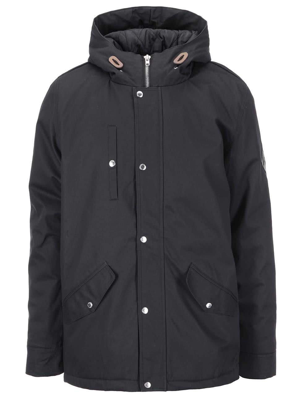 28094edd56c9 Černá zimní bunda Fat Moose Outskirts ...