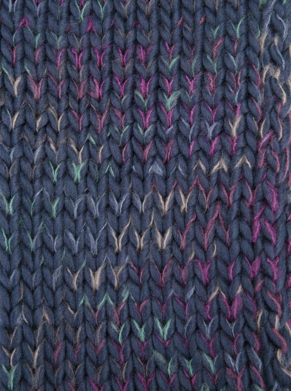 Modrá šála s barevnými detaily Roxy Nola ... fe9c77c366