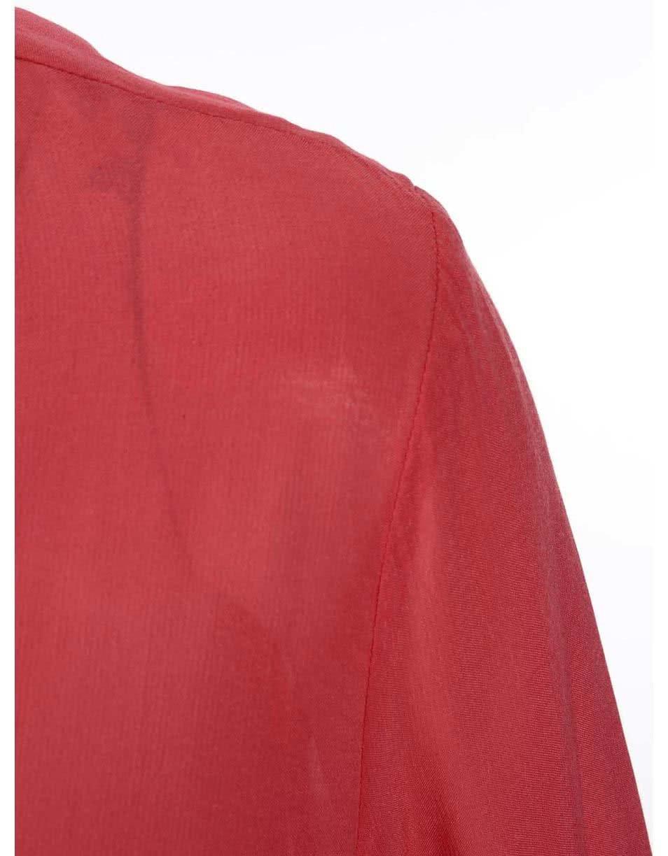 Červená dámská halenka s dlouhým rukávem s.Oliver ... db5af15ee4