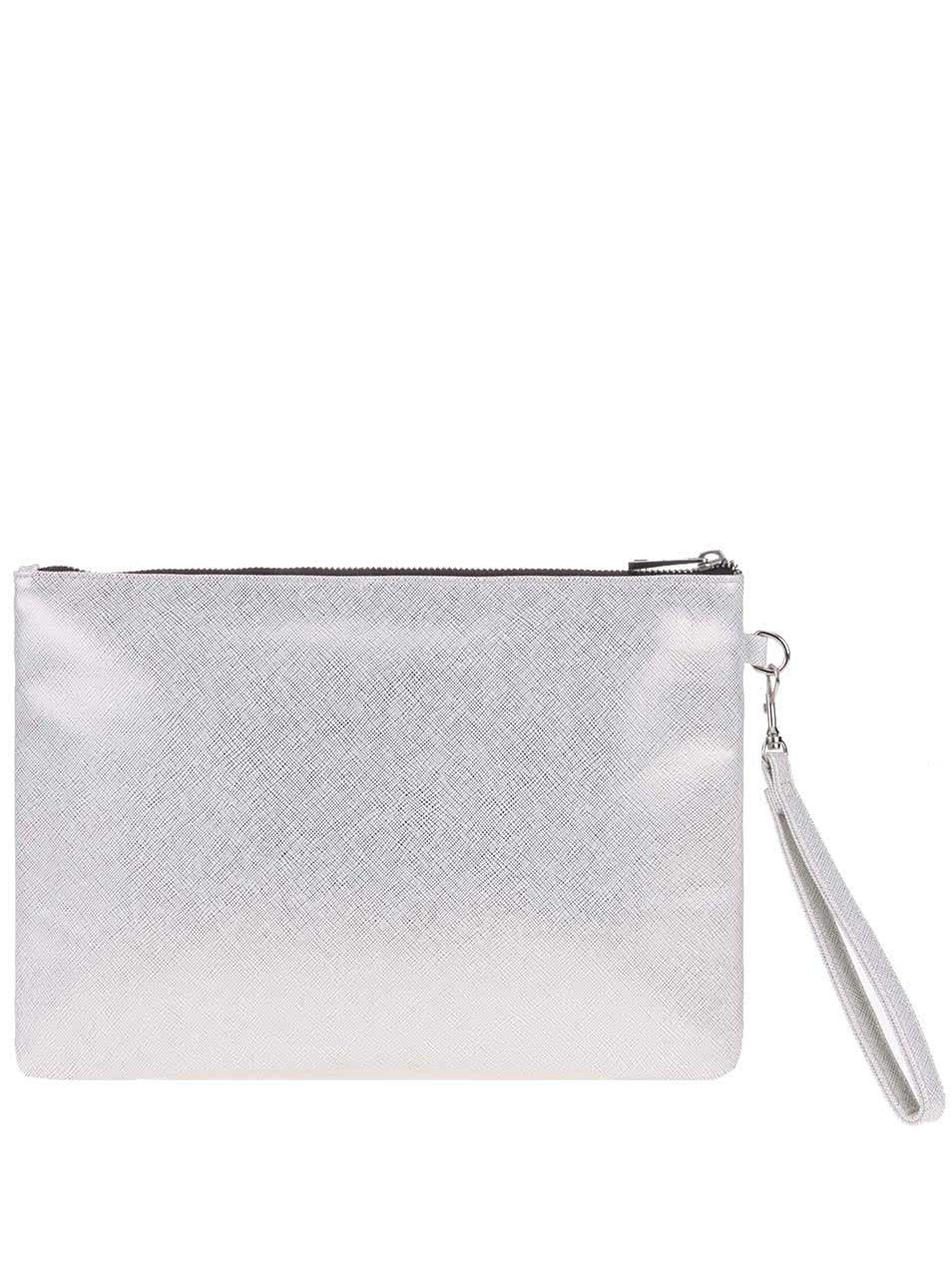 Zlato-biela listová kabelka s pútkom Dorothy Perkins ... 3a500065c9e
