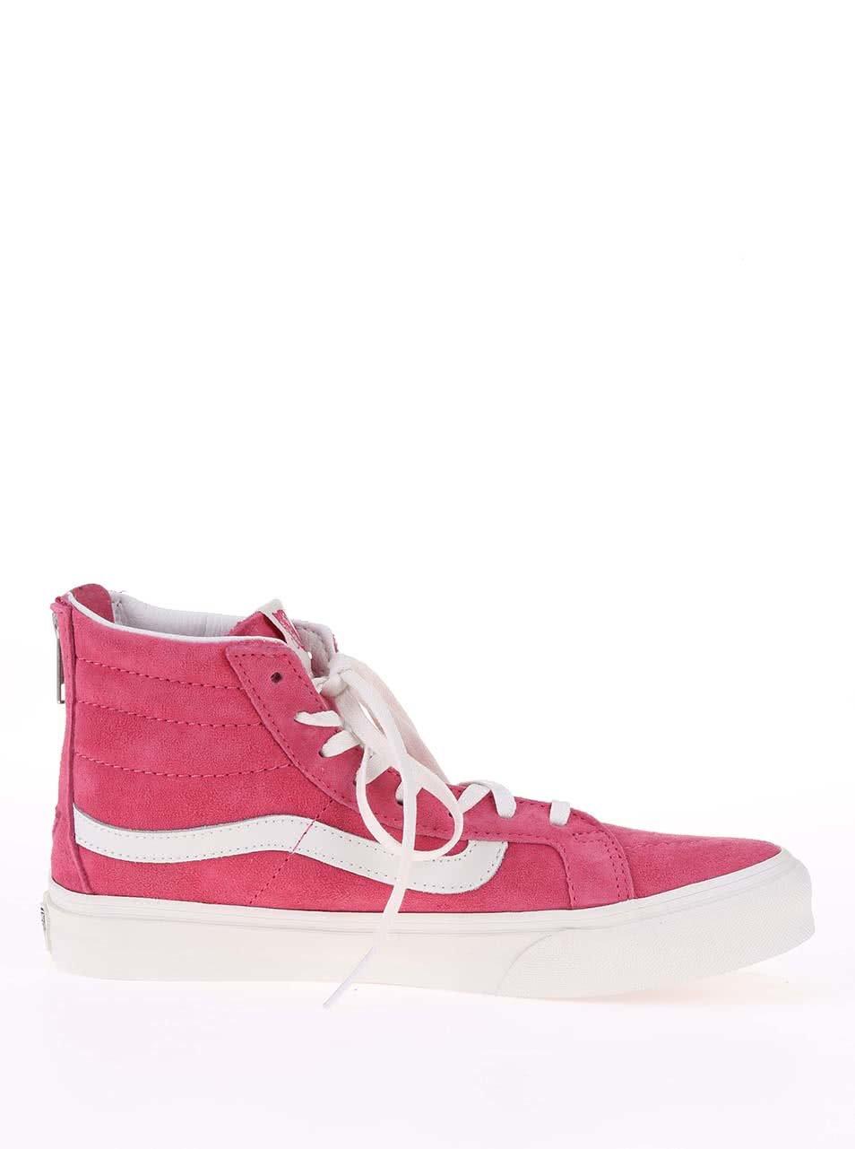 93ae66b64e83e Ružové dámske členkové tenisky Vans SK8-HI | ZOOT.sk