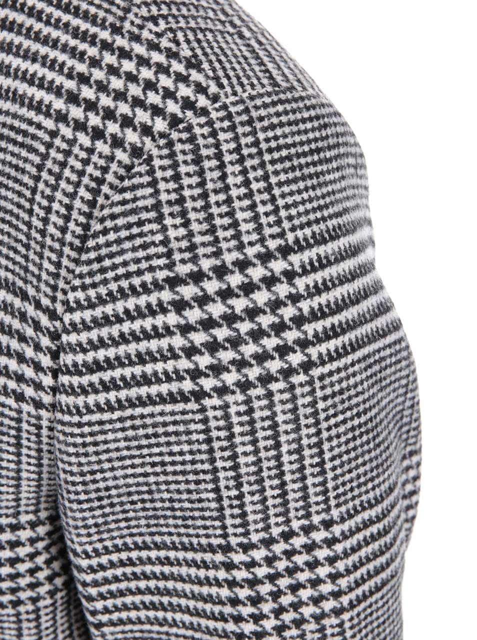 Černo-bílý kabát se vzorem glenček Jack   Jones Abalon ... 9ad15a5ea3