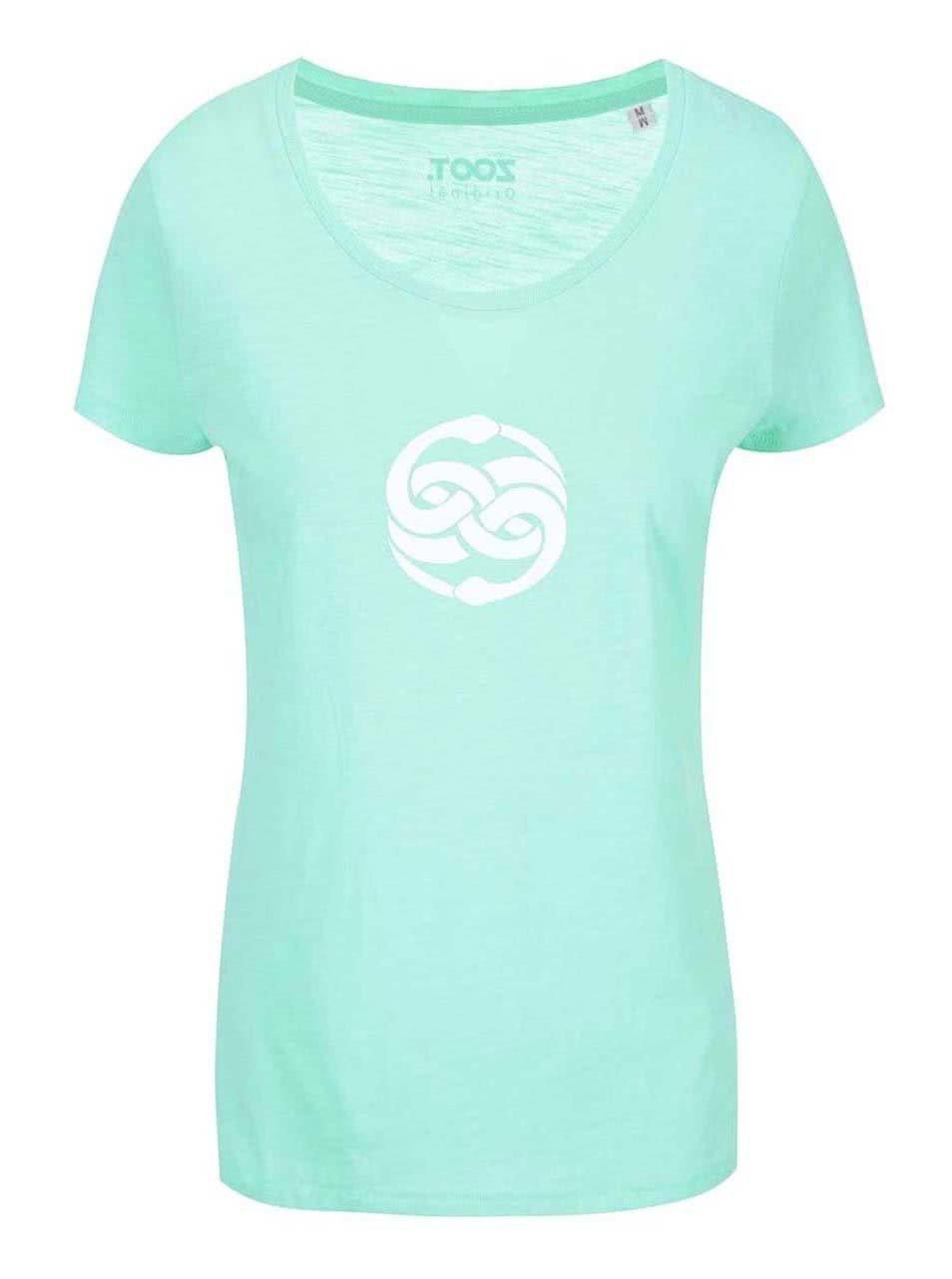 8895a96b4bf2 Zelené dámske tričko s potlačou ZOOT Originál Orin ...