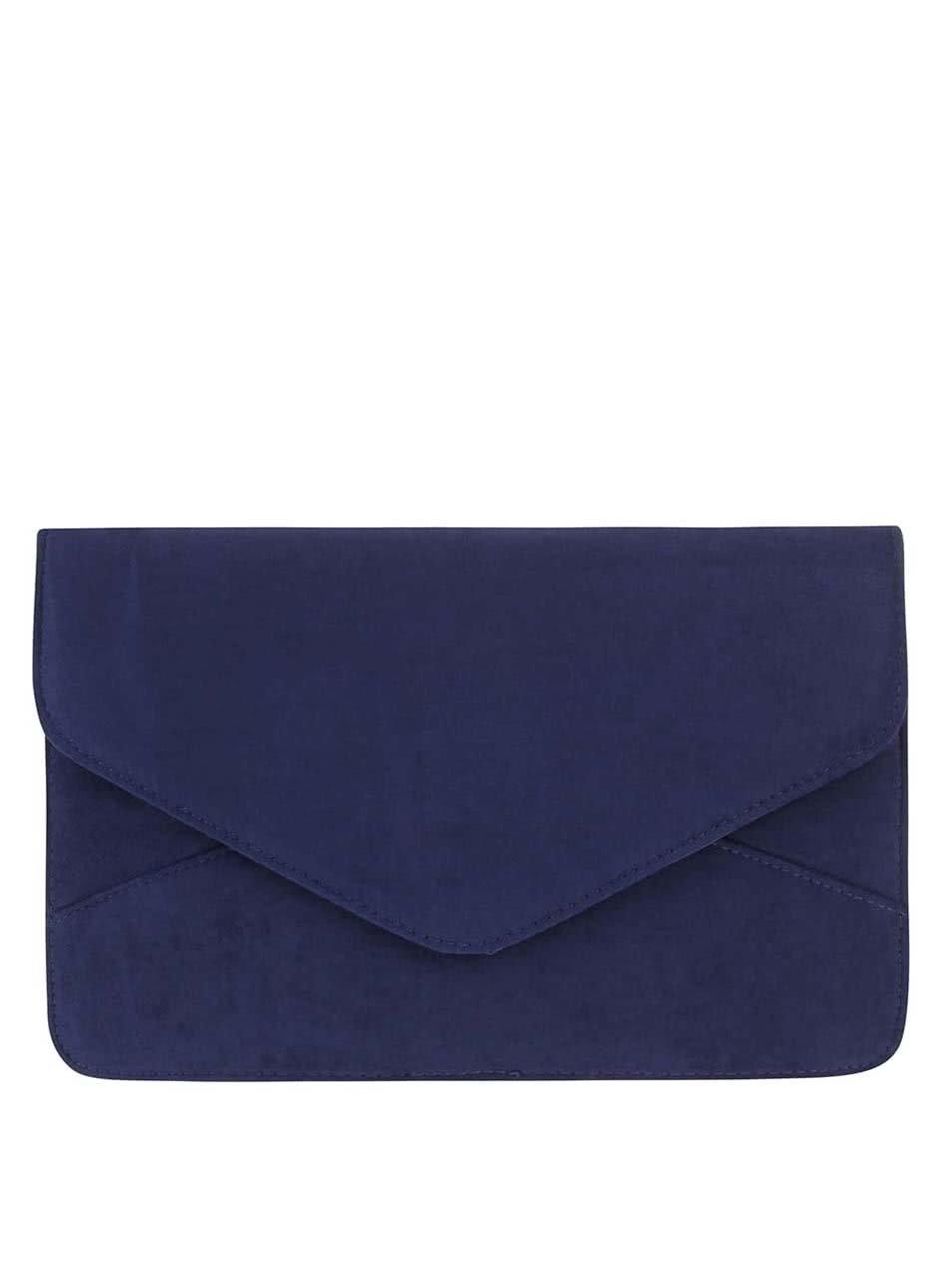 b0bc9acf8a Tmavomodrá minimalistická listová kabelka Dorothy Perkins ...