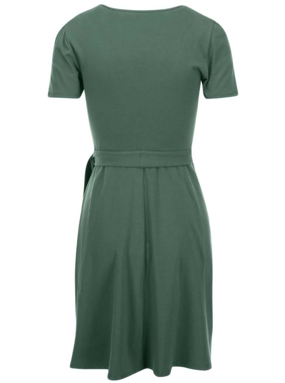 2090f66ae904 Zelené šaty s opaskom Dorothy Perkins ...