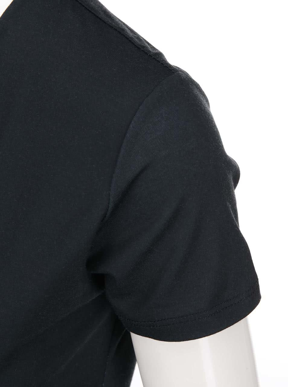 e2eed3ed7539 Bielo-modro-čierne šaty Desigual Karlie ...