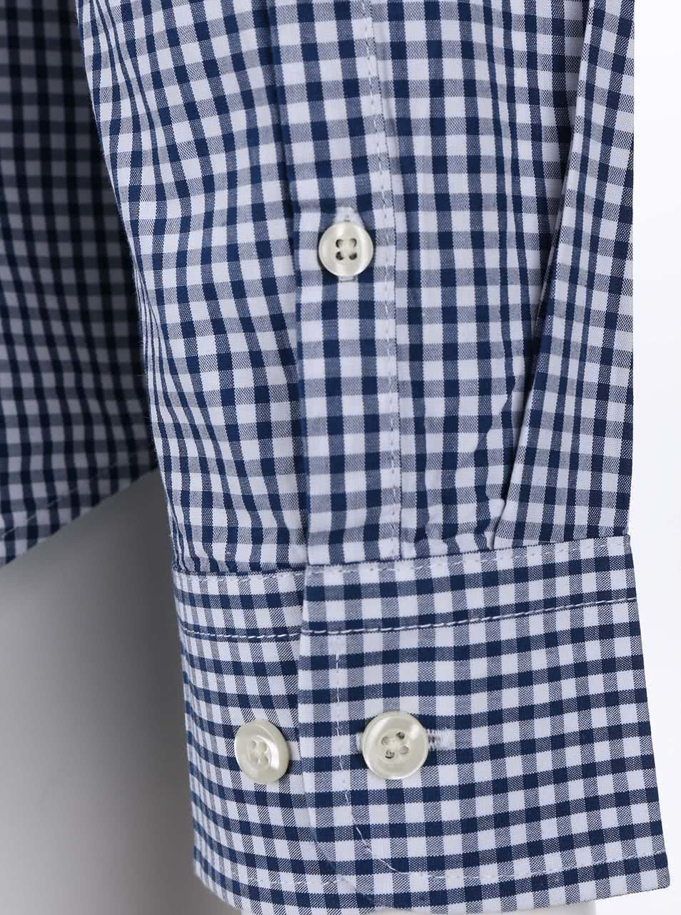 Tmavě modrá kostkovaná košile Original Penguin Belan ... 6f1a84a410