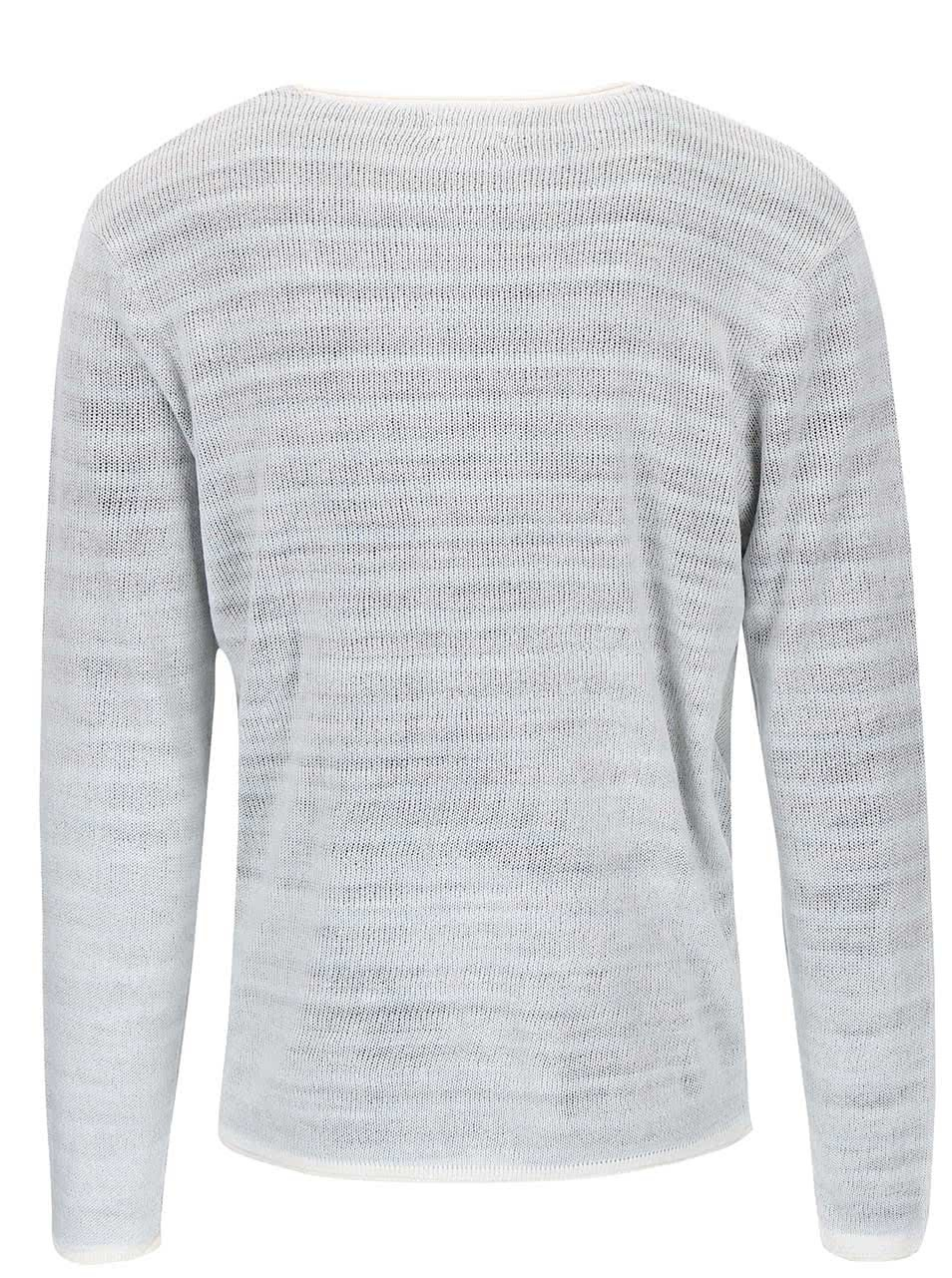 0cf4ed08b5b3 Krémový pruhovaný sveter Jack   Jones Kingston ...