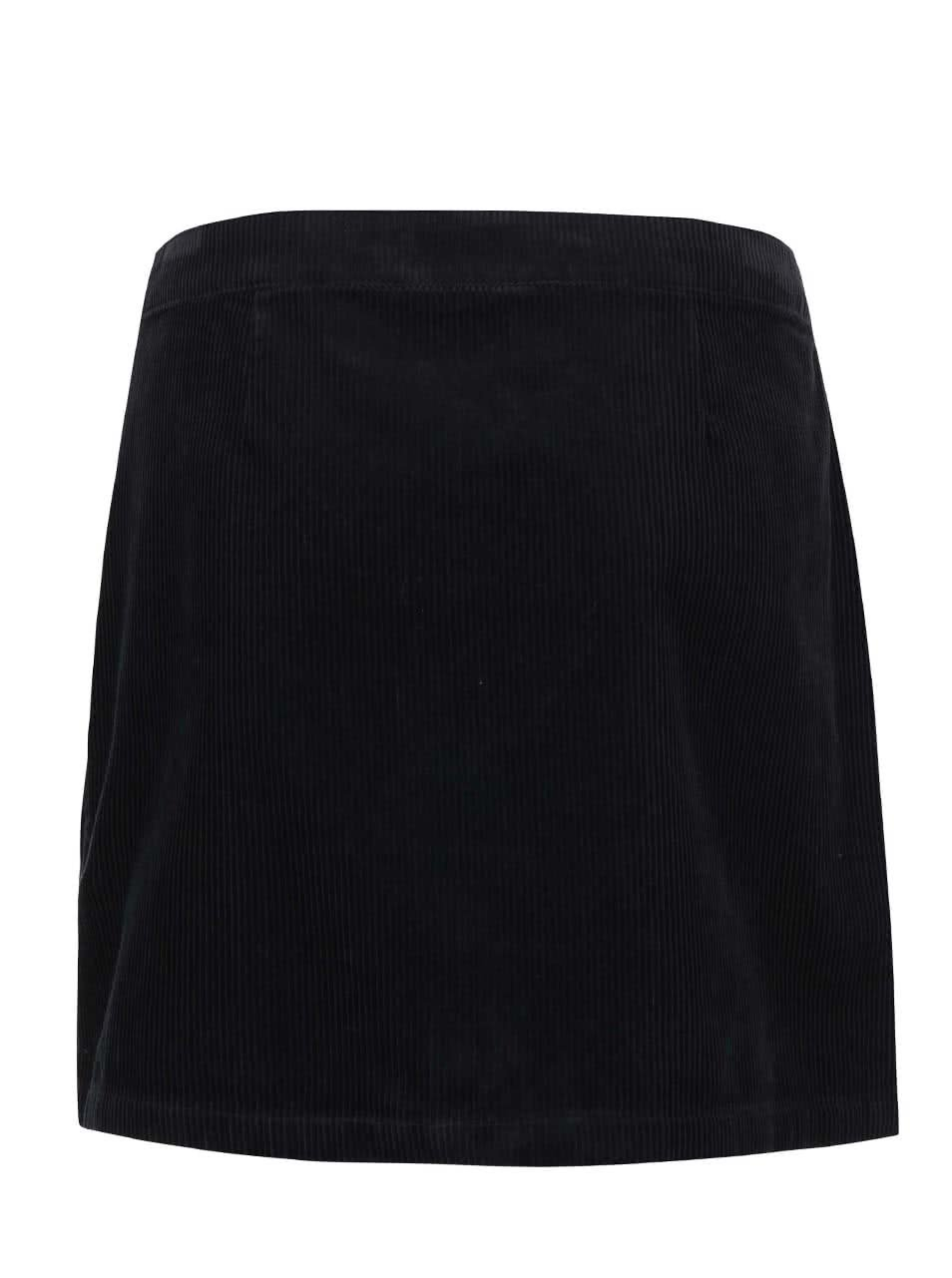 b4e43176653 Černá manžestrová sukně se zipem Dorothy Perkins ...