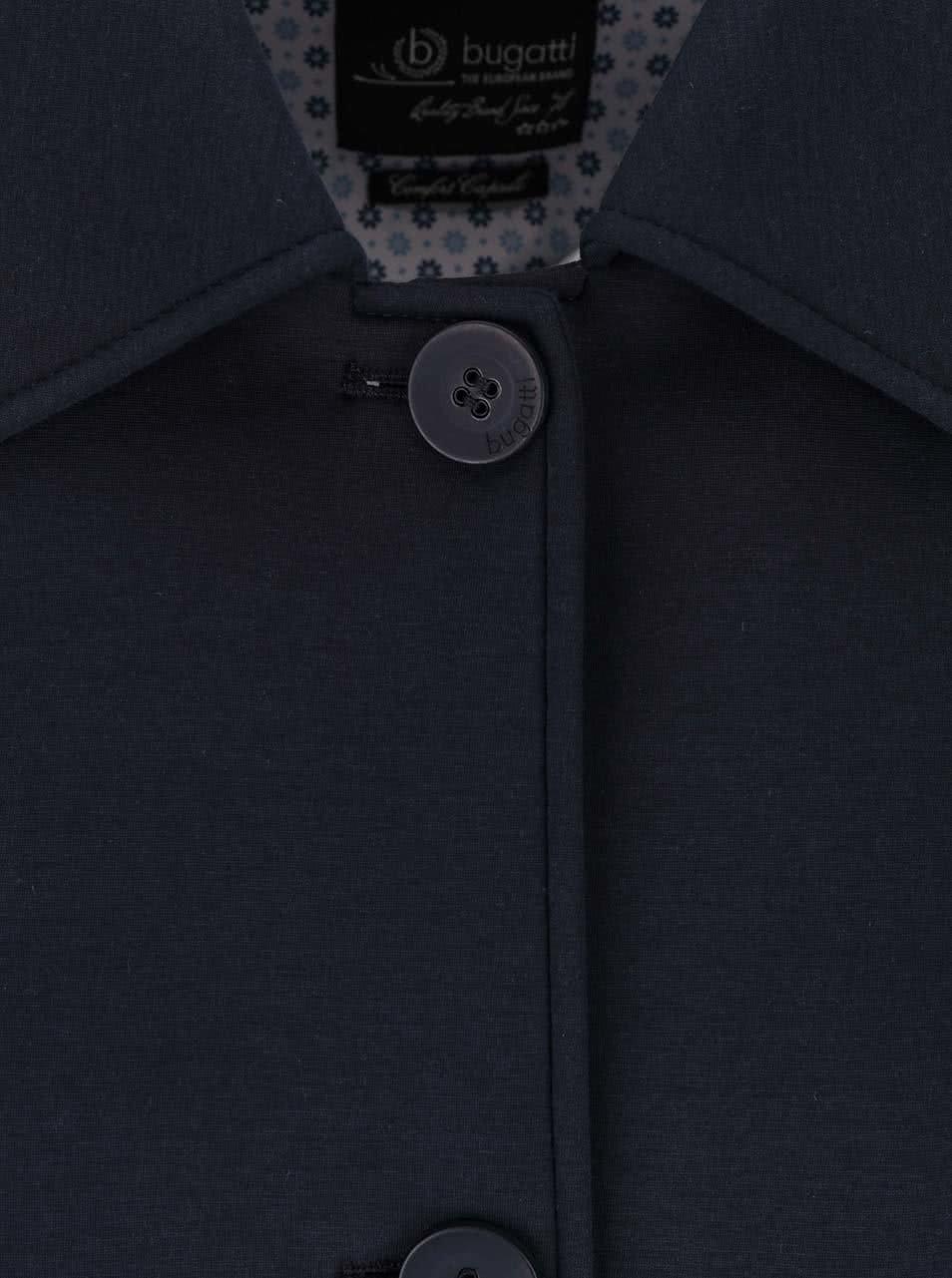 Tmavomodrý dámsky kabát bugatti ... 817309e2bf