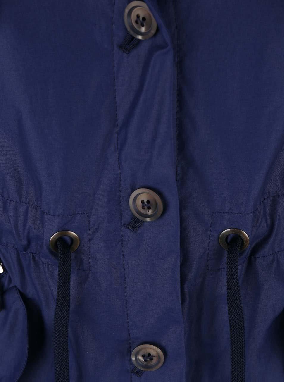 a70d4dd94e3 Modrý dámský kratší kabát bugatti ...