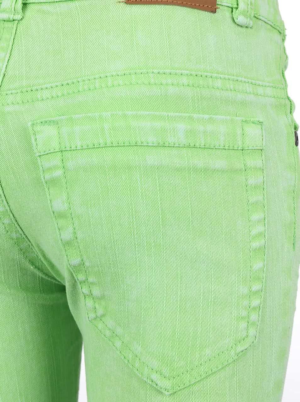 Zelené holčičí džíny Blue Seven