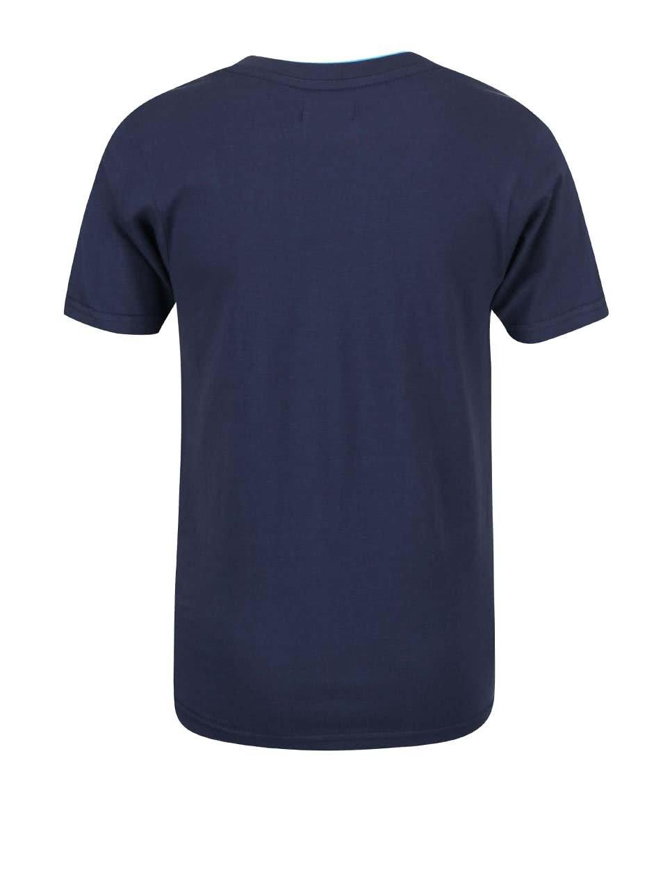 8a24ebd0653b Modré detské tričko s potlačou káblov Blue Seven ...