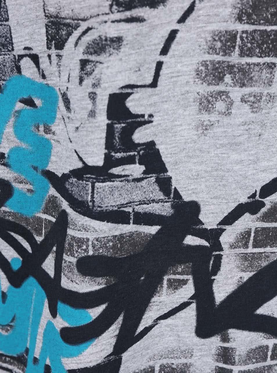 6df4b72828ce Sivé chlapčenské tričko s dlhým rukávom Blue Seven ...