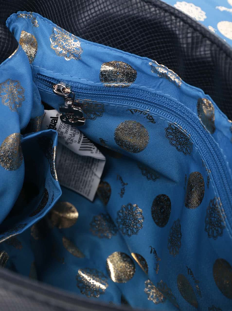 c4b6e7bb1b Modrá menší kabelka Desigual Varsovia Juliet ...
