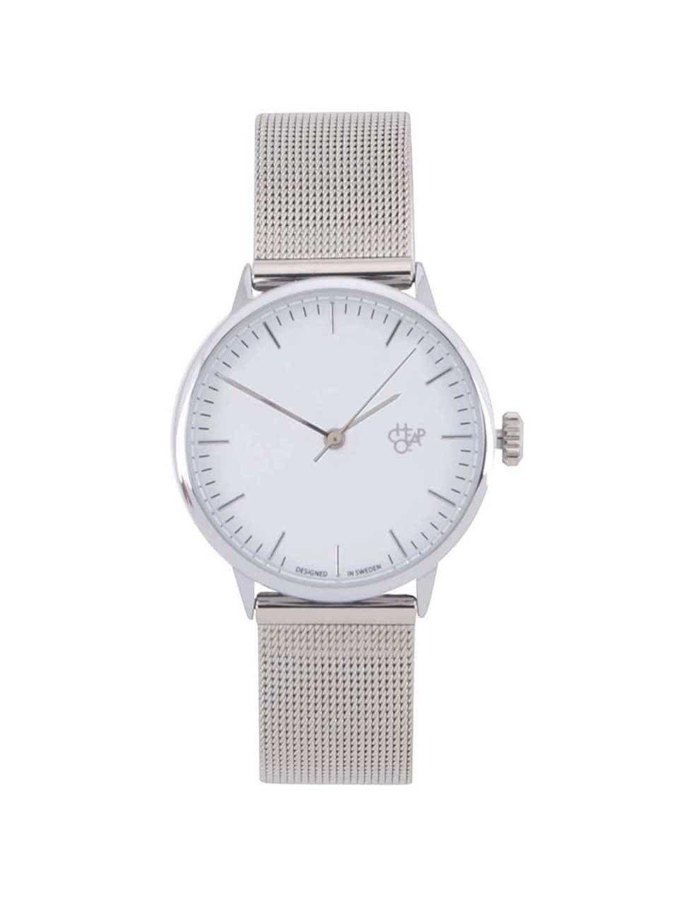 067cddcc3 Dámské hodinky ve stříbrné barvě CHPO Nando Mini Silver | ZOOT.cz