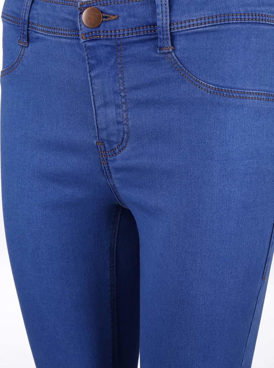 Světle modré elastické džíny Dorothy Perkins ... cea41da23b