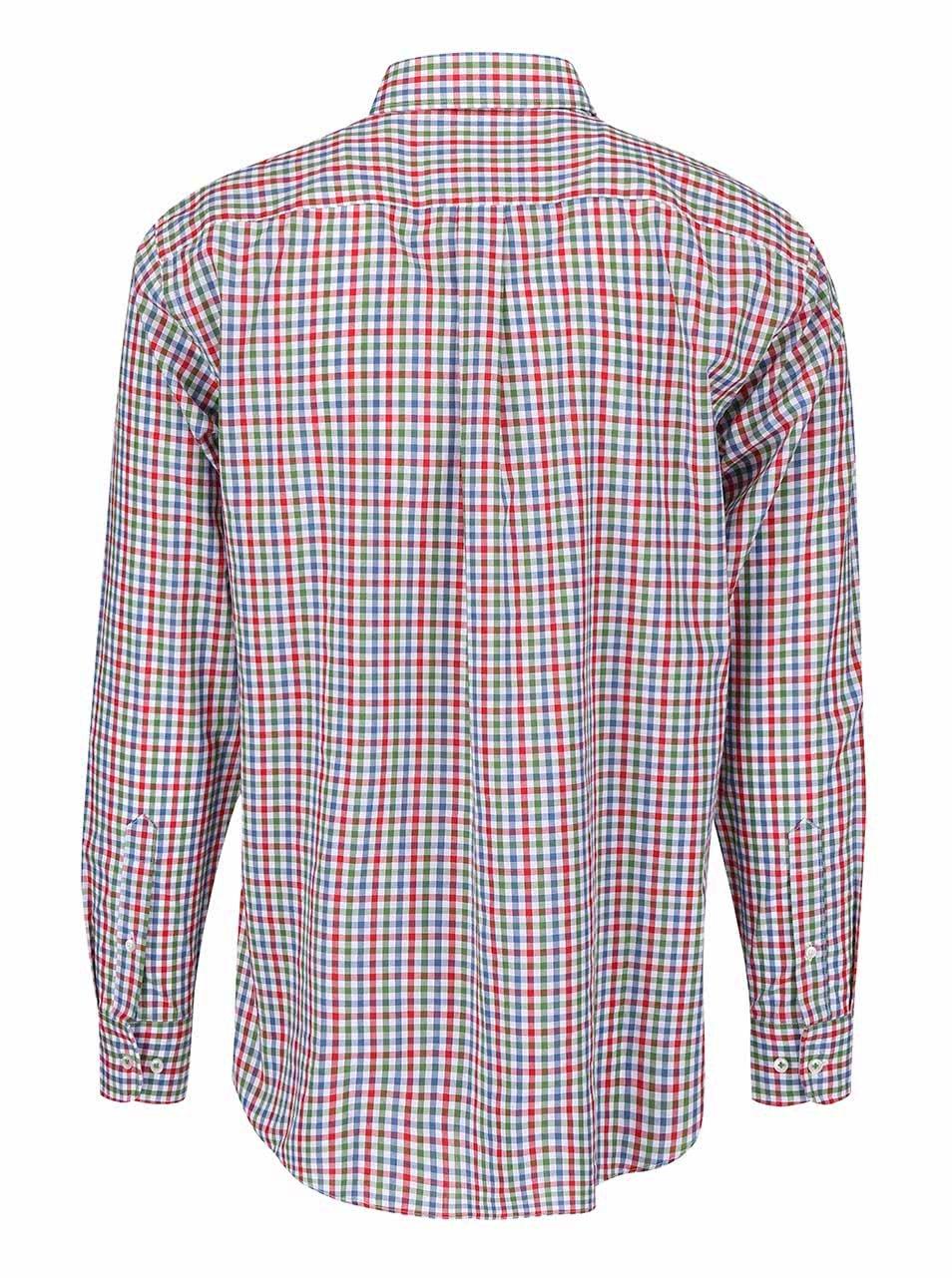 376f77bc50ad Zeleno-červená kockovaná košeľa Fynch-Hatton ...