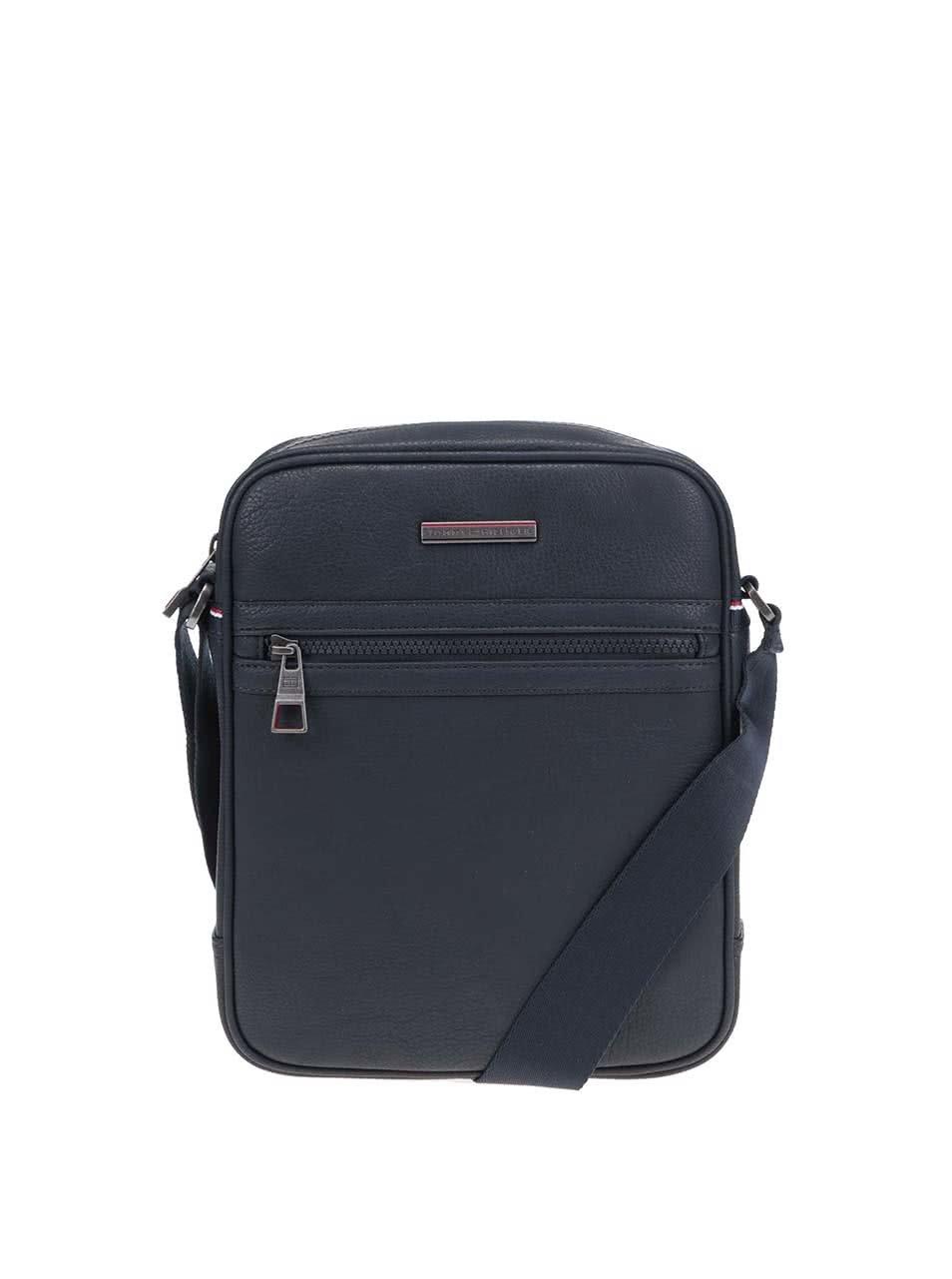 Tmavomodrá pánska taška cez rameno Tommy Hilfiger Essential Reporter ... 2cd3a3082c