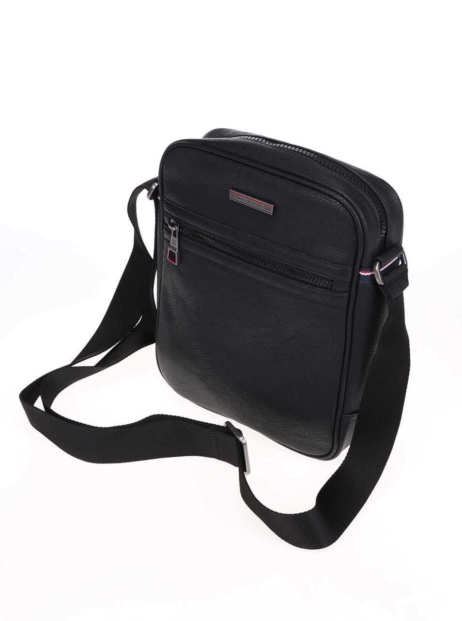 Černá pánská taška přes rameno Tommy Hilfiger Essential Reporter ... 73626d41d3
