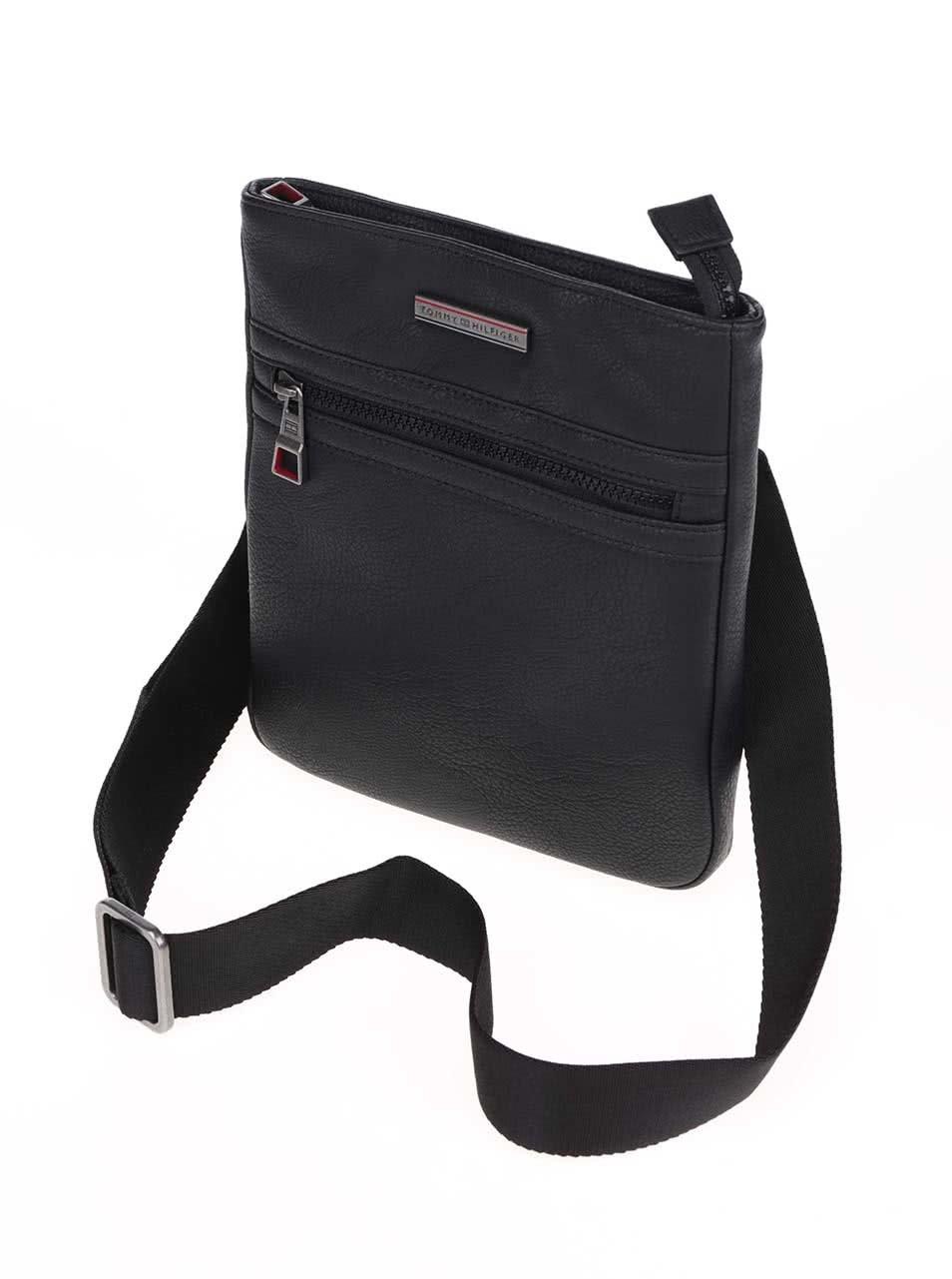 Černá pánská crossbody taška Tommy Hilfiger Essential ... 05cef1e592c