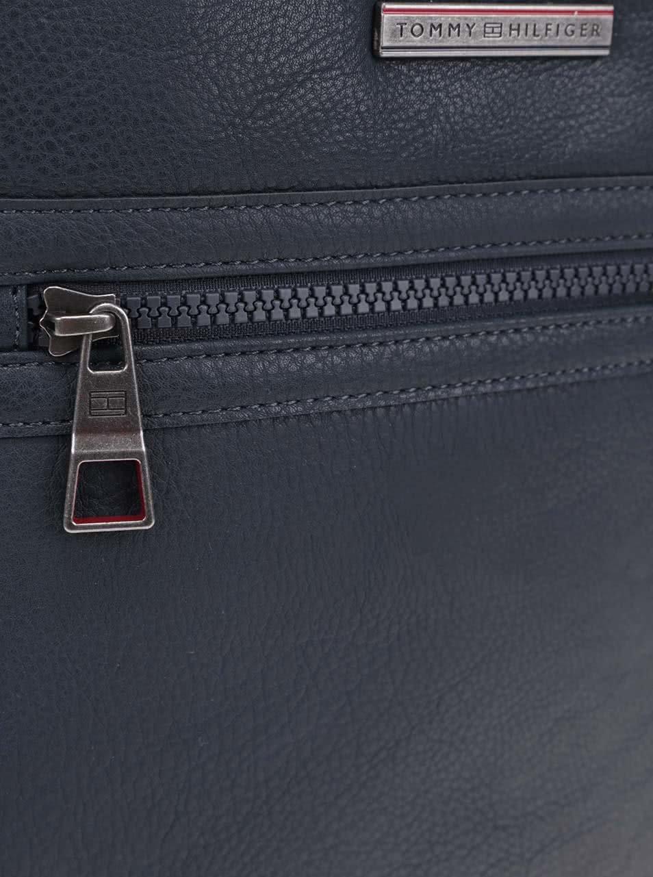 Tmavě modrá pánská taška přes rameno Tommy Hilfiger Essential ... 15c95ec4098