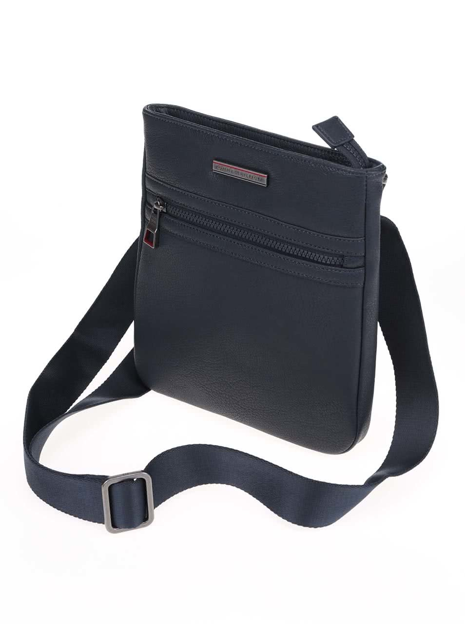 3c714d09d5 Tmavomodrá pánska taška cez rameno Tommy Hilfiger Essential ...