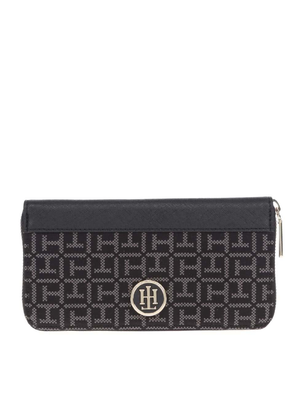 f130d5b97 Čierna vzorovaná peňaženka Tommy Hilfiger Jaquard | ZOOT.sk
