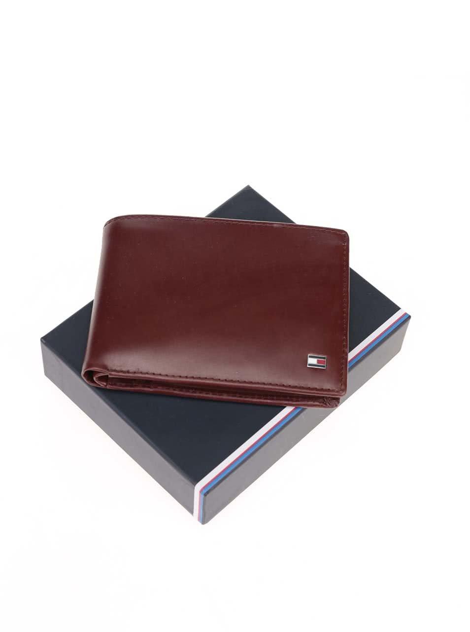Hnedá pánska kožená peňaženka Tommy Hilfiger Formal ... 1f3101d01e3