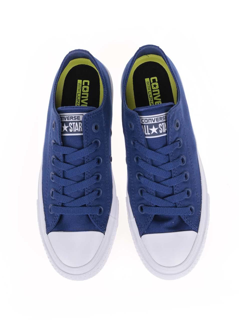 fd37e5410e5 Bílo-modré unisex tenisky Converse Chuck Taylor All Star II ...