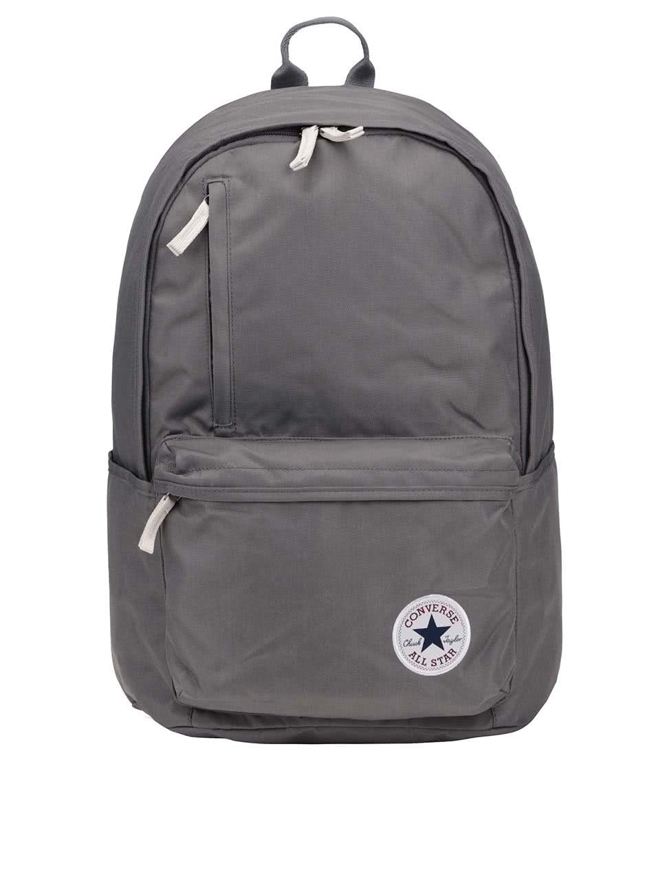 Šedý batoh Converse Poly Original Backpack ... 88777d793c