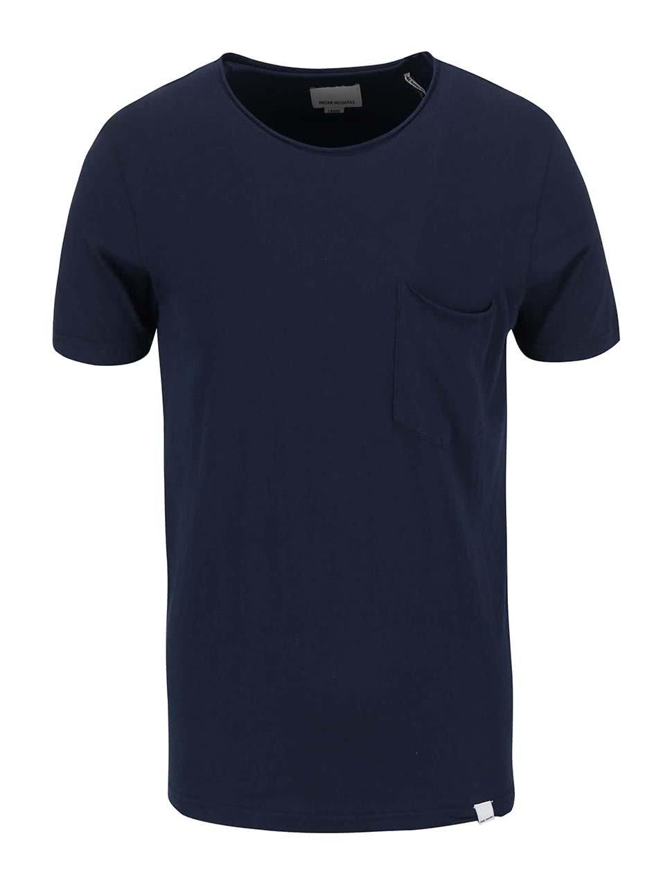 c5e1fc0803d5 Tmavomodré tričko s krátkym rukávom Shine Original Andy ...